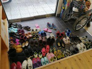 靴いっぱい